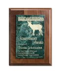 Walnut Panel and Green Marble Achievement Awards