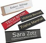 Plastic Door/Wall/ Locker plates  Name Badges | Plates