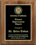 Precision Walnut Plaque Religious Awards